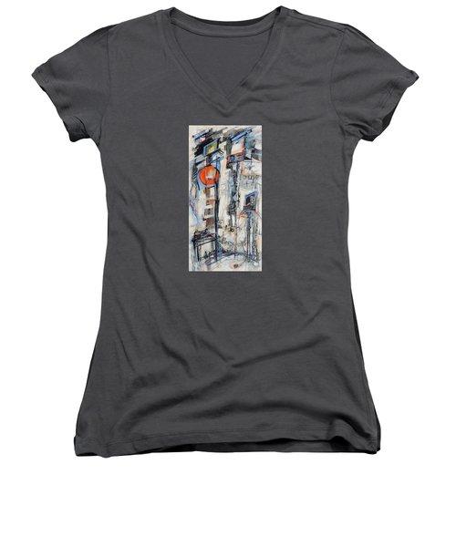Urban Street 1 Women's V-Neck T-Shirt