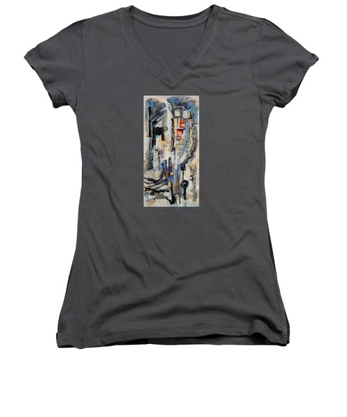 Urban Street 2 Women's V-Neck T-Shirt