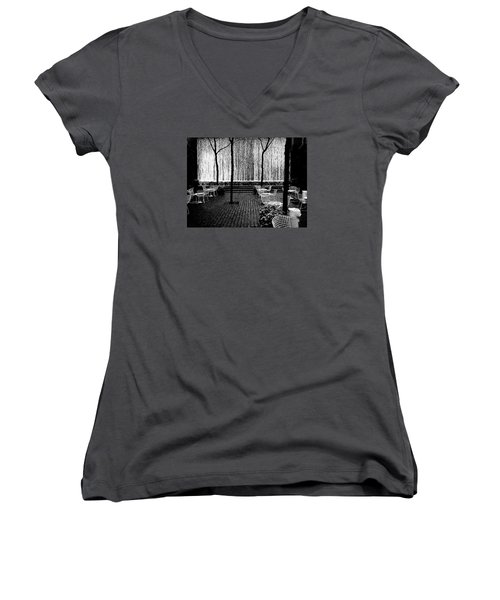 Urban Waterfall Women's V-Neck T-Shirt