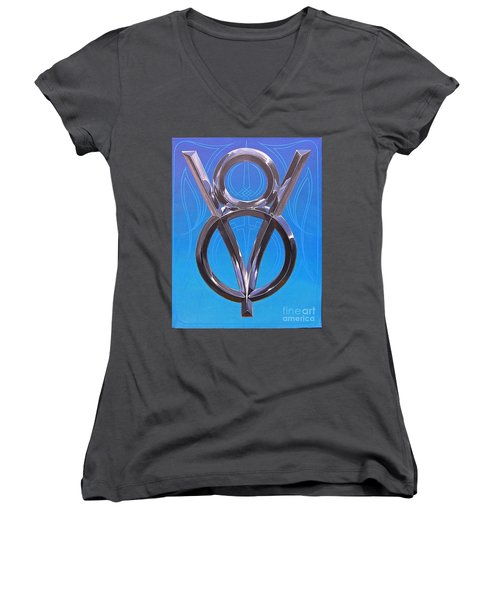 V Eight Power Women's V-Neck