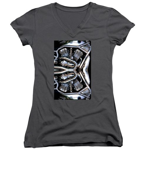 V-rod Reflected Women's V-Neck T-Shirt