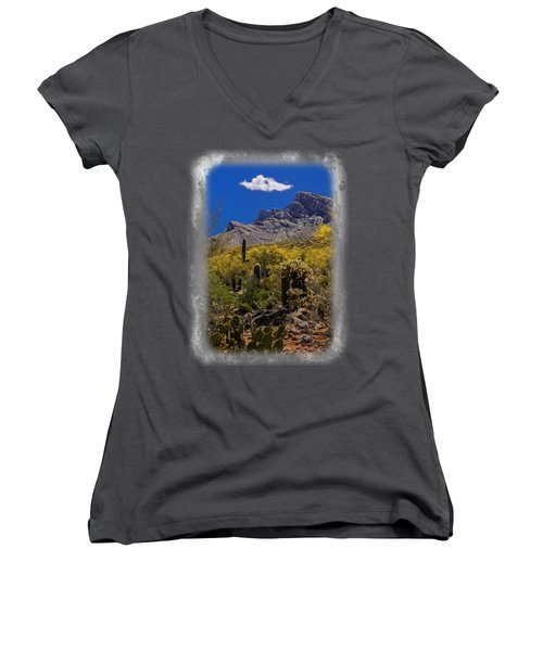 Valley View No.2 Women's V-Neck (Athletic Fit)
