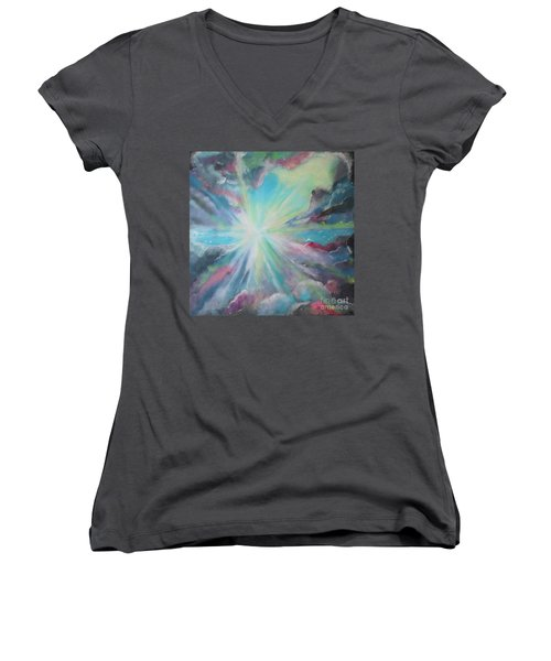 Inspire Women's V-Neck T-Shirt