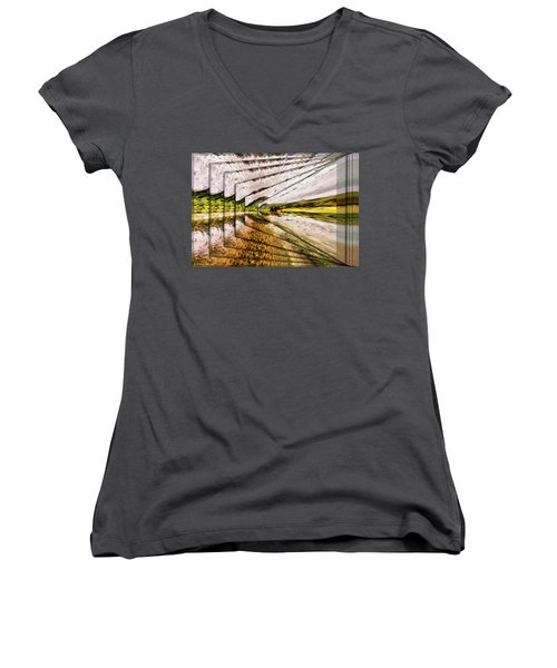 Van Gogh Perspective Women's V-Neck