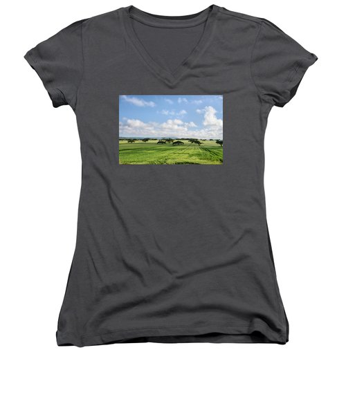 Vegetation Women's V-Neck T-Shirt