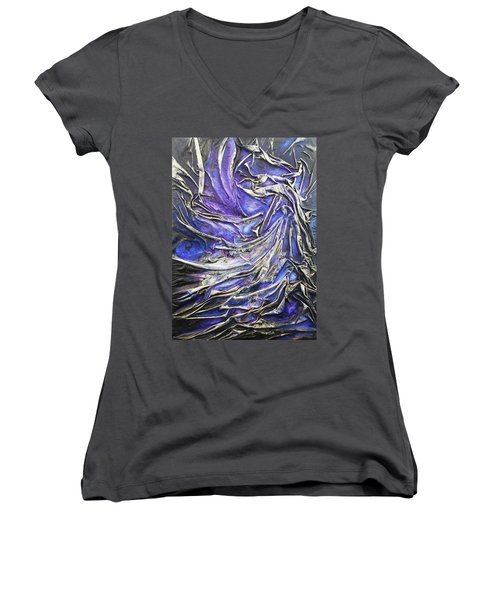 Veiled Figure Women's V-Neck T-Shirt
