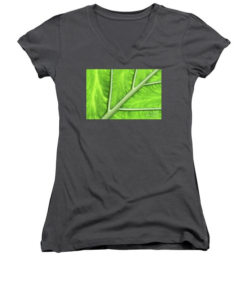 Veins Of Life #2 Women's V-Neck (Athletic Fit)