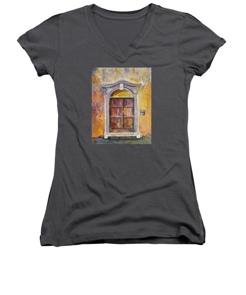 Venice Door Women's V-Neck T-Shirt