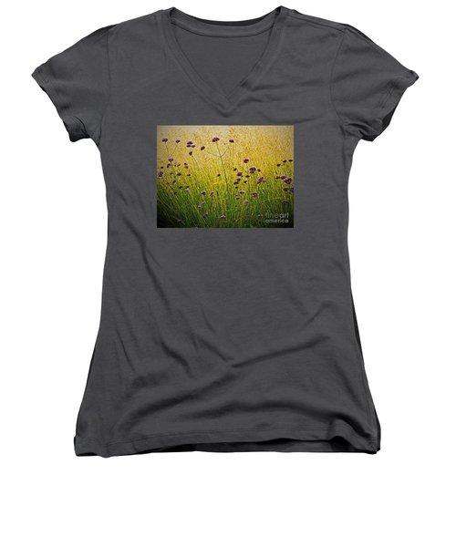 Verbena Women's V-Neck T-Shirt