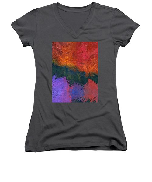 Verge 2 Women's V-Neck T-Shirt (Junior Cut) by The Art Of JudiLynn
