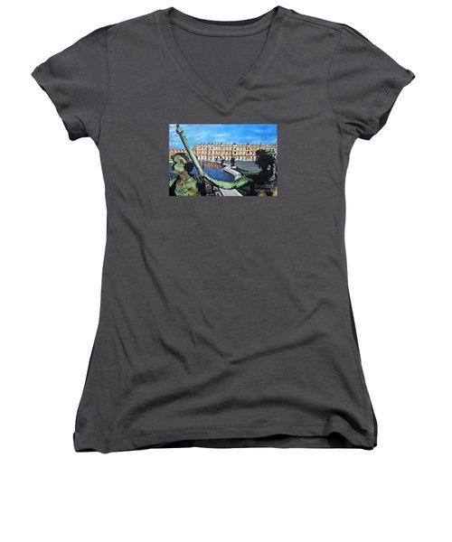 Versailles Palace Women's V-Neck T-Shirt