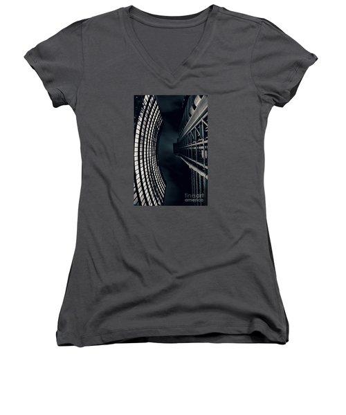 Vertigo I Women's V-Neck T-Shirt