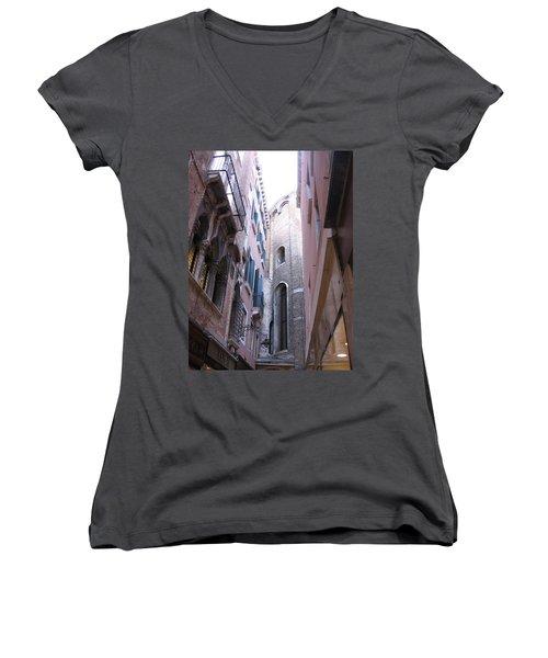 Vertigo In Venice Women's V-Neck