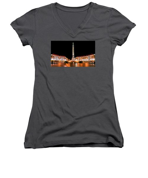 victory Square Women's V-Neck