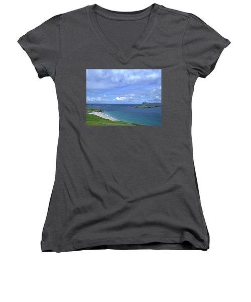 View Blasket Island #g0 Women's V-Neck T-Shirt