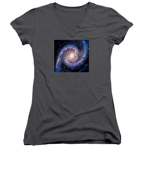 View From Hubble Women's V-Neck T-Shirt