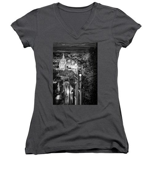 View From The Hill Women's V-Neck
