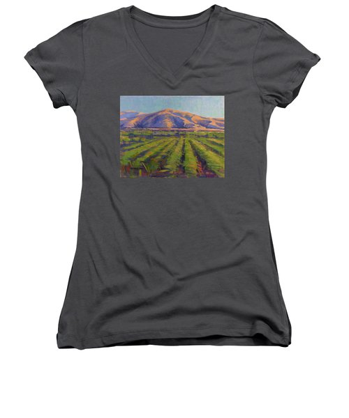 View From The Train Women's V-Neck