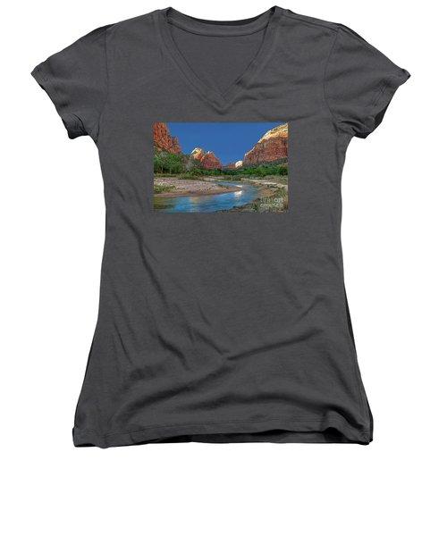 Virgin River Bend Women's V-Neck
