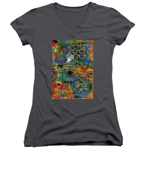 Visions Of A Good Life Women's V-Neck