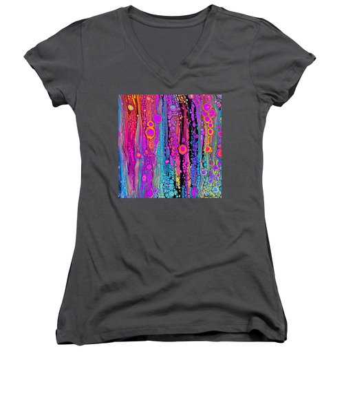 Visual Joy #2651 Women's V-Neck (Athletic Fit)