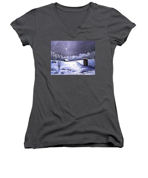 Voting Booth Women's V-Neck T-Shirt