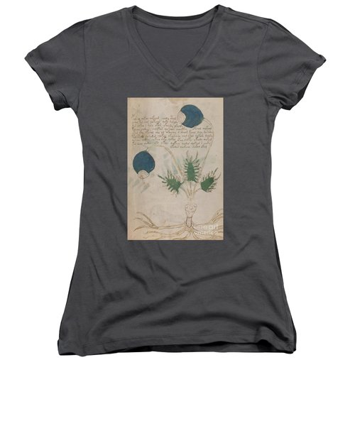 Voynich Flora 20 Women's V-Neck (Athletic Fit)