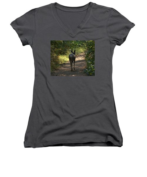 Walk On Women's V-Neck