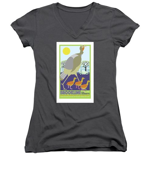 Walking Tours Women's V-Neck