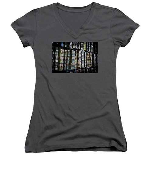 Wall Of Containment Women's V-Neck T-Shirt