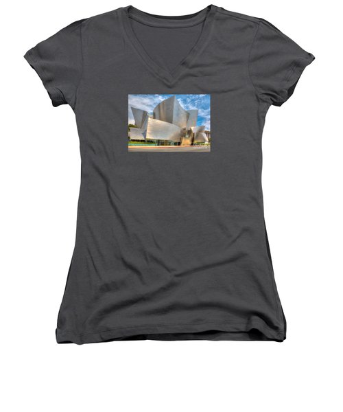 Walt Disney Concert Hall - Los Angeles Women's V-Neck T-Shirt