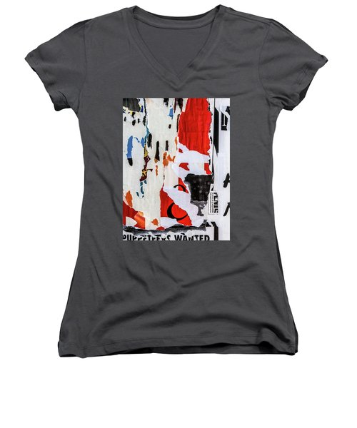 Wanted Women's V-Neck T-Shirt