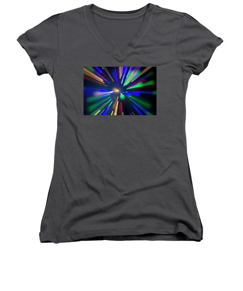 Warp Speed Women's V-Neck