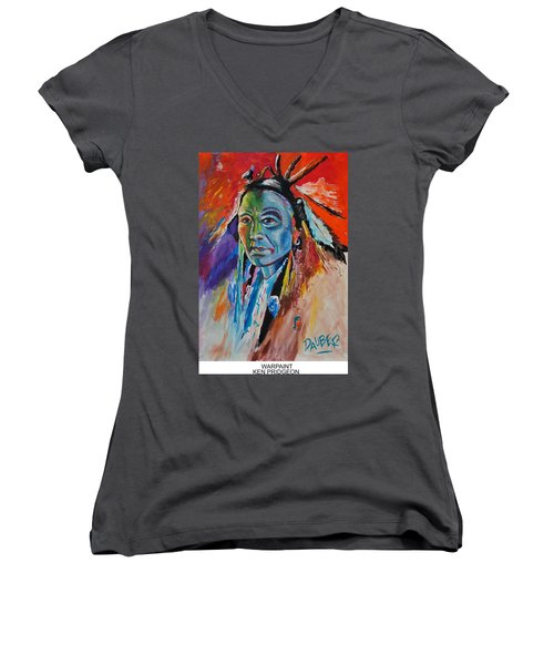 Warpaint Women's V-Neck T-Shirt