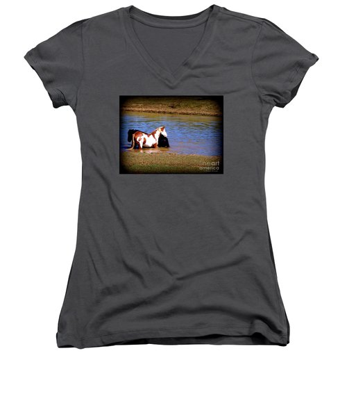 Water Babies Women's V-Neck
