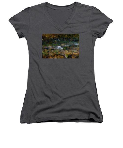Water Colors Women's V-Neck