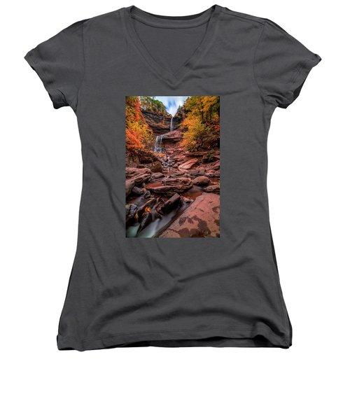 Water Falls  Women's V-Neck