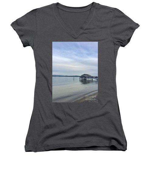 Water Is Life Women's V-Neck T-Shirt