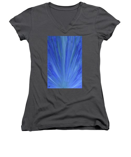 Water Light Women's V-Neck