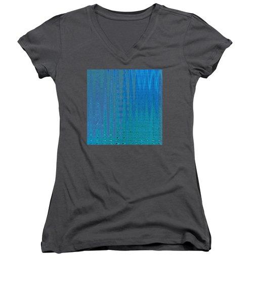 Water Music Women's V-Neck T-Shirt (Junior Cut)