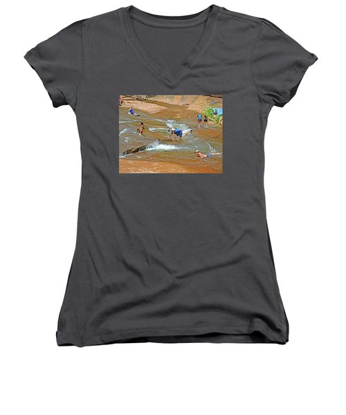 Water Play 3 Women's V-Neck (Athletic Fit)