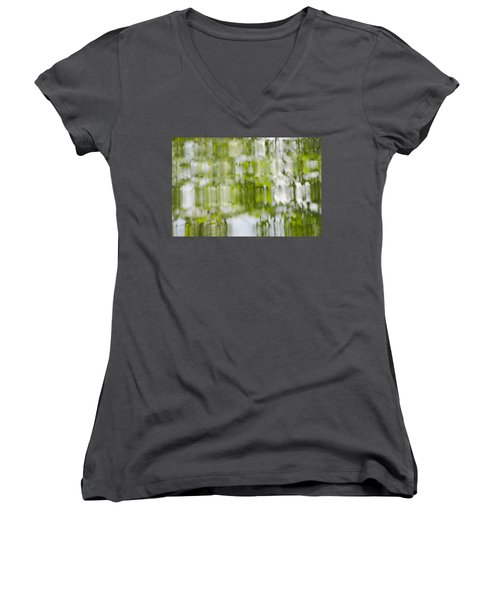 Water Reflections Women's V-Neck