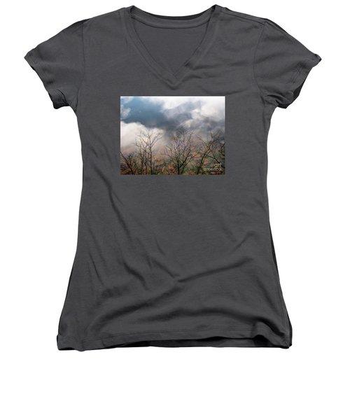 Water Study Women's V-Neck T-Shirt