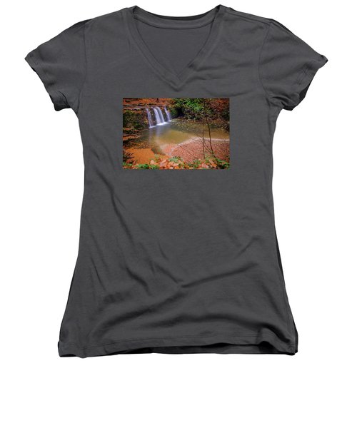 Waterfall-1 Women's V-Neck
