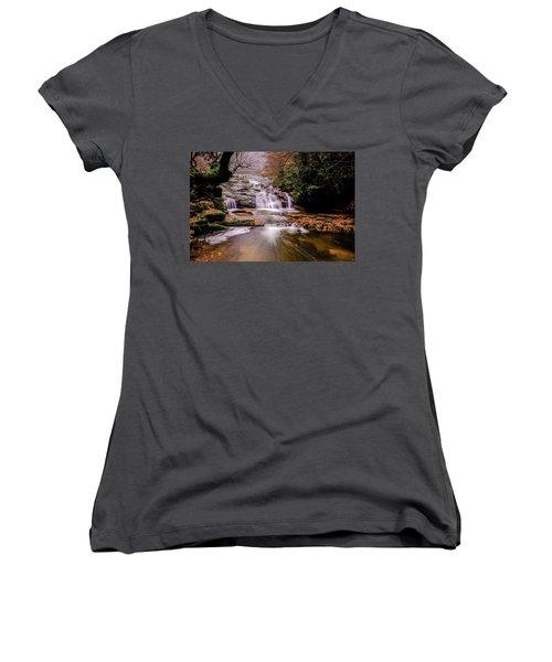 Waterfall-10 Women's V-Neck