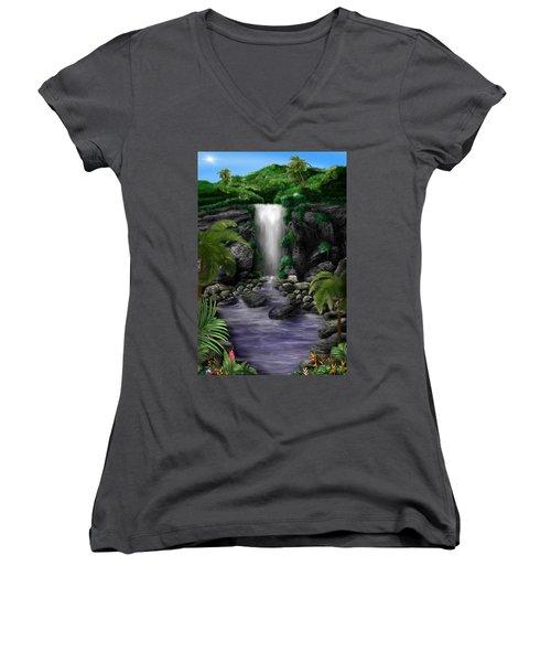 Waterfall Creek Women's V-Neck