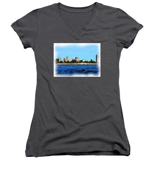 Waterfront Decay Four Women's V-Neck