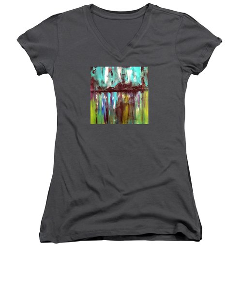 Waterfront Reflections Women's V-Neck