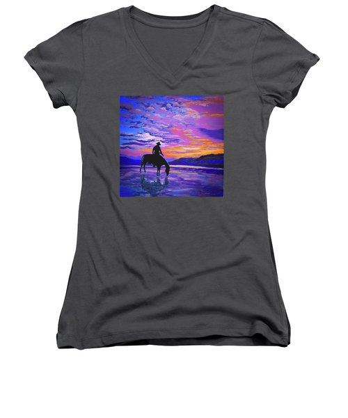 We And Still Waters Women's V-Neck T-Shirt