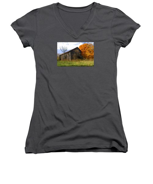 Weathered Barn 3 Women's V-Neck